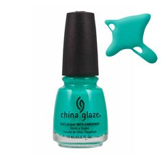 China Glaze Turned Up Turquoise   Nails   BeautyBay.com