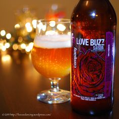 #AnchorageBrewingCo #LoveBuzz #Saison #CraftBeer #Bokeh #Beertography #Brewlumination #Photography