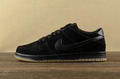the best attitude d827b 67333 2018 Authentic Nike Dunk Low SB Pro Ishod Wair Mens Sneakers 819674-002  Black Noir Black Noir Youth Big Boys Shoes