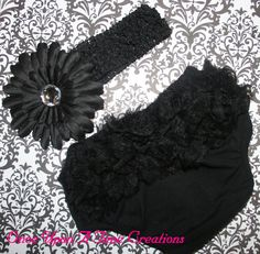 black baby outfit