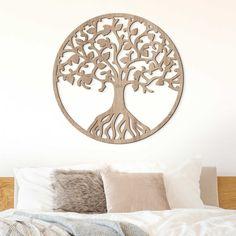 Drevený strom života na stenu - Binah Home Decor, Decoration Home, Room Decor, Home Interior Design, Home Decoration, Interior Design