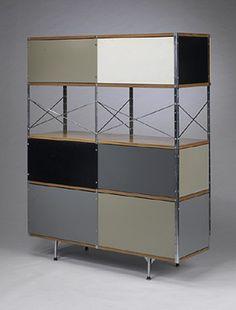 Charles and Ray Eames ESU 421-N   Herman Miller USA, c. 1952