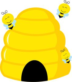 home free clipart bee clipart beehive bees bee themed classroom rh pinterest com beehive clipart black and white beehive clip art