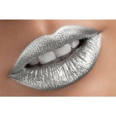 Silver Metallic Lipstick Mirror ($18) ❤ liked on Polyvore featuring beauty products and beauty accessories