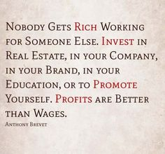 Invest In Yourself #wealth