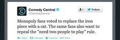 Monopoly Replaces Iron Piece With Cat After Internet Vote | The Jane Dough