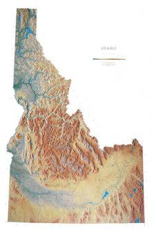 State of Idaho home to 80 mountain ranges