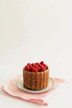 ... chocolate raspberry charlotte cake ...
