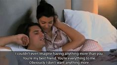 """And they're way better together than they ever would be apart. 