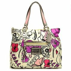 89 best coach bags images on pinterest coach bags coach purse and special buy coach poppy petal flower floral print glam shopper bag tote 16306 handbags purses and bags zimbio mightylinksfo