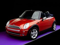 Mini Cooper, 3 doors, cabriolet, automatic, A/C, radio CD for only 35€...