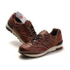 NEW GALANCE BROWN SNEAKERS | New Balance M1400LBR leather Brown cream coloured mens shoes