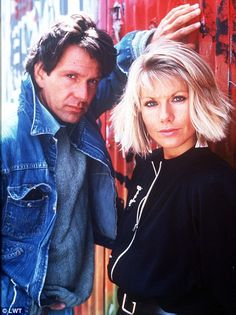 Glynis Barber and Michael Brandon.