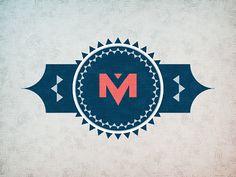 Retro style logo