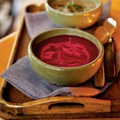 Savory Beet Soup | MyRecipes.com
