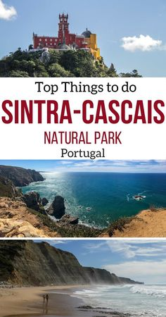 Only 30min away from Lisbon, the Sintra region and the Sintra Cascais Natural park have a lot to offer: impressive cliffs, stunning beaches, windmills, Unesco heritage sites, unique buildings and magnificent parks. Be sure to add it to your Portugal travel plans.