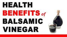 Health Benefits of Balsamic Vinegar