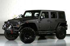 2013 Gloss Black Kevlar Jeep Wrangler http://www.iseecars.com/used-cars/used-jeep-wrangler-for-sale