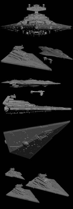 Star Wars - Scale of sizes