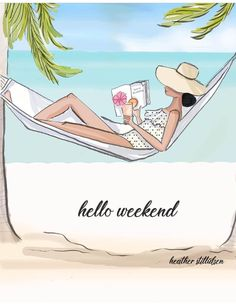 Time to relax and unwind it's the weekend! 💓 I'm decompressing after a… Bon Weekend, Hello Weekend, Happy Weekend, Its The Weekend, Weekend Quotes, Summer Quotes, Cute Wallpapers, Planner Stickers, Cool Words