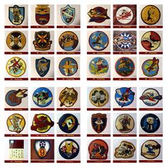 Hand painted squadron / group patch for sale