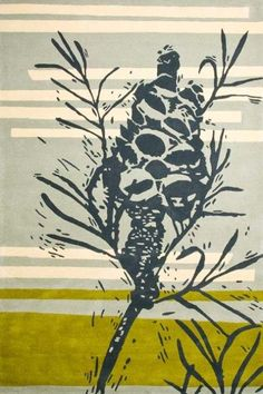Old Man Banksia - Rug Collections - Designer Rugs - Premium Handmade rugs by Australia's leading rug company- Clothfabric