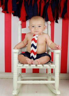 Baby Boy Tie Photo Prop Birthday Cake Smash by TinyTiptoesBoutique