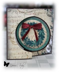 Flip It Wreath by YoursTruly - Cards and Paper Crafts at Splitcoaststampers