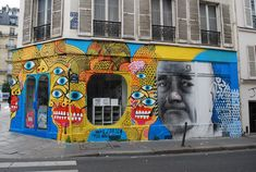 Belleville is also close to Le Mur (The Wall), the curated ex-billboard space…