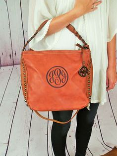 Monogrammed purse  hobo bag  Crossbody monogrammed pocketbook by  IFlewTheNest on Etsy https   c06e07ccba54a