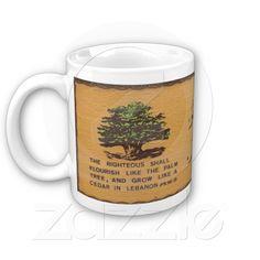 Cedar of Lebanon Coffee Mug - Zazzle.com.au