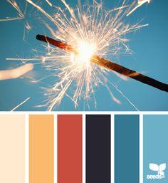 holiday sparkle Voor meer kleur inspiratie kijk ook eens op http://www.wonenonline.nl/interieur-inrichten/interieur-kleur/