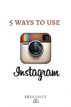Instagram is the ultimate tool for showing your readers who you are!