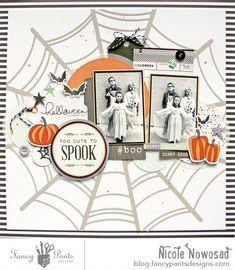 Too Cute to Spook | Nicole Nowosad | Fancy Pants Designs Studio | Bloglovin'