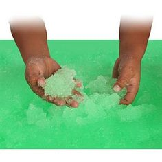 turn bathwater into goo�then back to water again