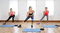 20-Minute Flat Belly and Tight Legs Toning Workout Using Gliders | Class...