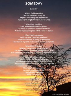 Someday (a reprise Deep Down, You Deserve, Anna, Poetry, Told You So, Feelings, Poetry Books, Poem, Poems
