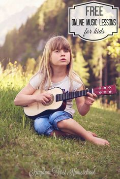 Free Online Music Lessons For Kids. List of free piano, guitar, drums, and violin lessons online for kids.