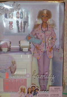 2003 Happy Family Baby Doctor Barbie