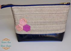 from the blue chair: Wide Open Zipper Pouches