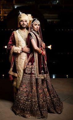 wedding dresses in 2019 bridal photoshoot, desi wedding dresses, Indian Groom Dress, Wedding Dresses Men Indian, Indian Wedding Bride, Indian Wedding Photos, Indian Bridal Outfits, Indian Bridal Wear, Couple Wedding Dress, Groom Wedding Dress, Wedding Couples