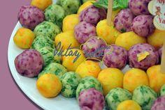 3 Renkli Patates Topları Tarifi