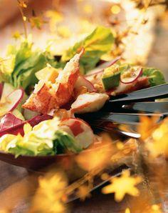Simple salade de homard