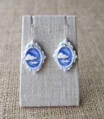 Image result for silver and porcelain jewelry
