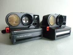 Vintage Polaroid - Polaroid Autofokus 5000 - SX 70 Film - ein Designerstück von susduett bei DaWanda