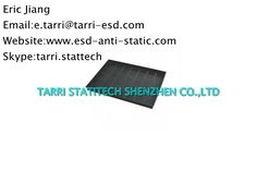 Flat Bottom ESD Conductive Tray , ESD Component Tray For Storing Electronics Parts