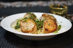 Scallops With Carrot Cream And Marjoram | Recipe | Scallops