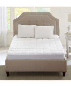 Sleep Philosophy Highline Quilted 3m Scotchgard Twin Xl Microfiber Mattress Pad White Mattress Mattress Furniture
