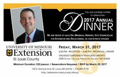Annual Dinner is 3/31! Register by March 20.