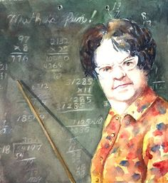 Math is Fun Terrece Beesley watercolor portraits landscapes etc